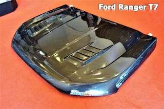 ford ranger bonnet carbon fiber