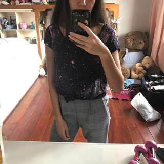 H&M Galaxy Top