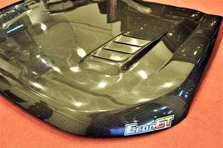 ford ranger bonnet carbon fiber t6
