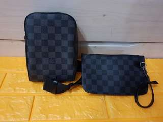 LV Belt Bag with Pouch
