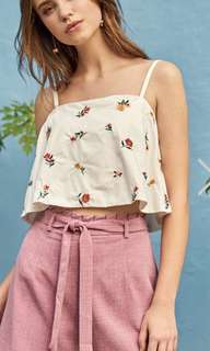 Theclosetlover Ananya Embroidered Top