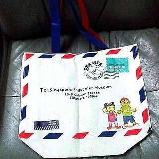 SG Philatelic Museum Bag