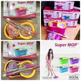 Alat Pel Sandra Dewi Lantai Berputar Super Mop Bolde M-169x+ Terlaris