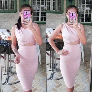 New! Cut out bodycon Dress