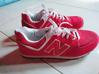 Sepatu New Balance Kw Baru 1 x pakai guy's