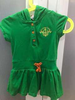 [LIKE NEW] Poney dress 6-12mo