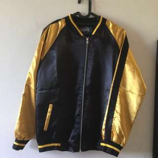 Roughneck Gold Varsity Jacket