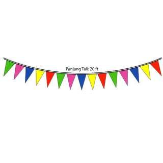 Triangle Flagline -PVC (PJPJ-0366)
