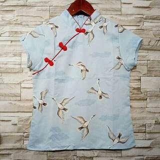 Shanghai Birdy Blouse
