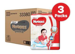 Huggies Silver pants M 64x3