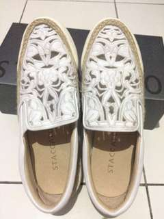 STACCATO FLORAL SHOES
