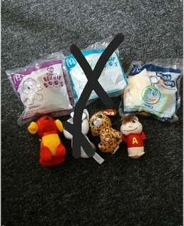 McDonald's Soft Toys