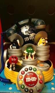 M&M's公仔地球電話