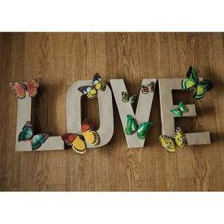 LOVE paper sandee (used)
