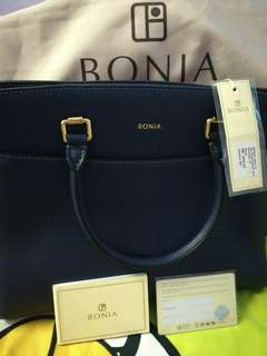 Authentic Bonia Blue Sachtel Brand New