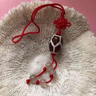天珠、龜紋天珠、平安扣、吊飾