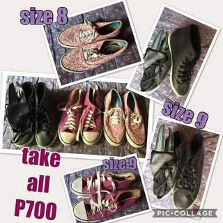 RUBBER SHOES (reprice)