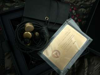 DITA Limited Edition Brass IEM