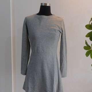 Grey Heart Dress