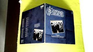 SAXON . back on the street (Double Album ) vinyl record