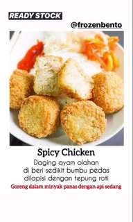 Spicy Chicken isi 15pcs