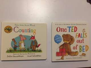 Books (suitable for babies/toddlers)