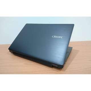 【15吋】喜傑獅 CJSCOPE SY-250 雙核桌機處理器+4G+SSD+HDD雙碟 WIN10 背光鍵盤 送全新包