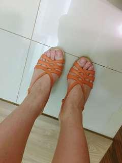 🚚 達芙妮購入夏天涼鞋