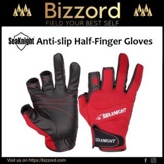 SeaKnight Anti-Slip Half-Finger Gloves