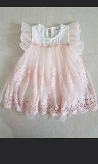 1-2yo baby girl dress