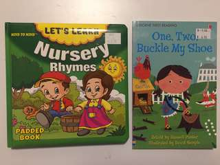 Books ( suitable for toddlers)