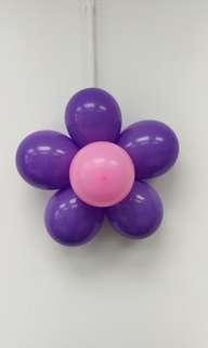 Balloons 花形氣球 DIY  (氣球 連花形氣球夾) 全新