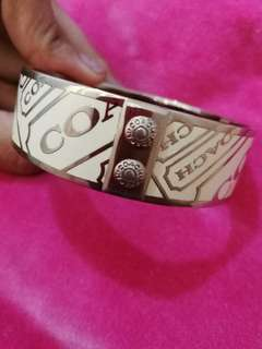 AUTHENTIC COACH BANGLE REPRICED