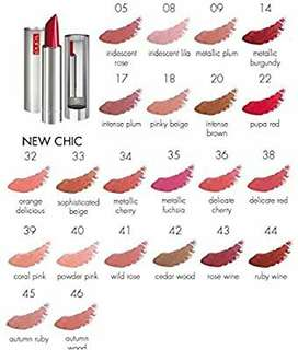 ❌Pupa Milano Natural Chic Lipstick (22 Pupa Red)