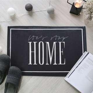 🚚 Let's Stay Home Floor Mat