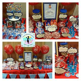 Candy Buffet for Kiddie Party (items based on theme)
