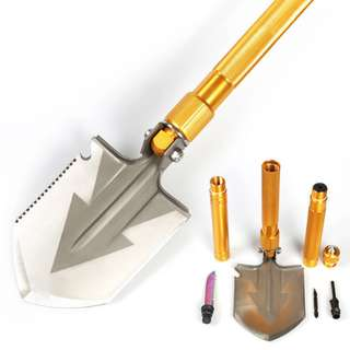 Update Multifunctional Shovel Manganese Steel Shovel 升级版多功能兵工铲锰钢军工铁锹#487