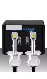 H1 80W LED Fog Tail Light DRL 6000K