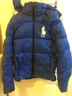 Ralph polo puffer jacket