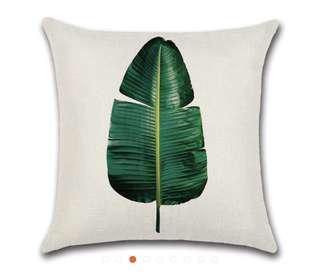 Tree Leaf Cushion Cover