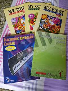 Electronic Keyboard Course (Cristofori) Book 1 and 2. Music Theory Books by Lina Ng