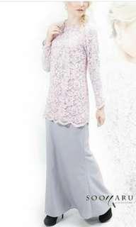 Baju kurung lace from soonaru
