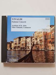 CD Vivaldi - Famous Concerti