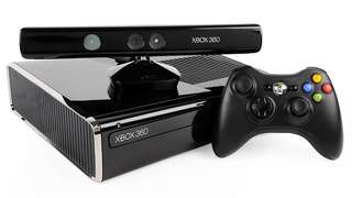 Xbox 360 w/ kinect + games