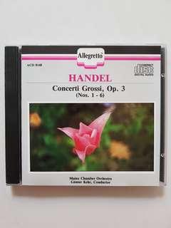 CD Handel - Concerti Grossi Op.3 (Nos. 1-6)