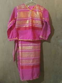 Thailand National Costume for Girls