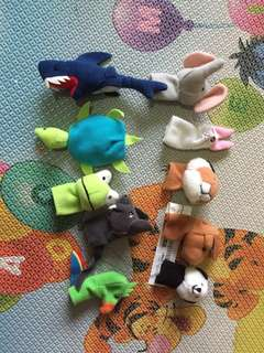Ikea  Finger Puppets (set of 10)