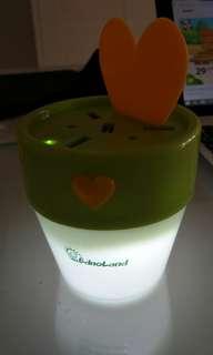 🚚 Flower pot USB port