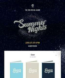 [PREORDER] TWICE- SUMMER NIGHTS