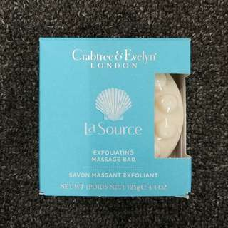 Crabtree & Evelyn London La Source Exfoliating Massage Bar 125g